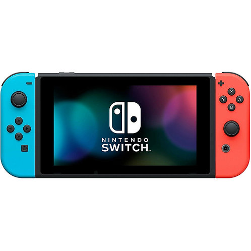 Nintendo Switch Console with Neon Blue and Neon Red Joy-Con (V2)