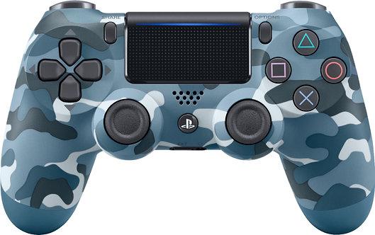 Sony PS4 Dual Shock Wireless Controller Blue Camo