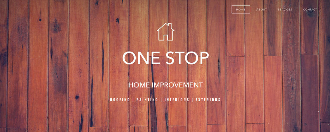 One Stop Home Improvement Home Page