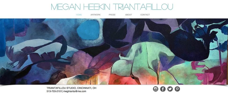 Megan Triantafillou Home Page