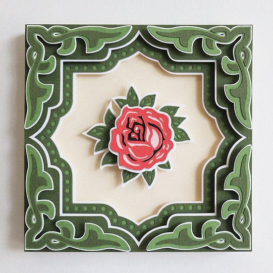 Peranakan Tile #3