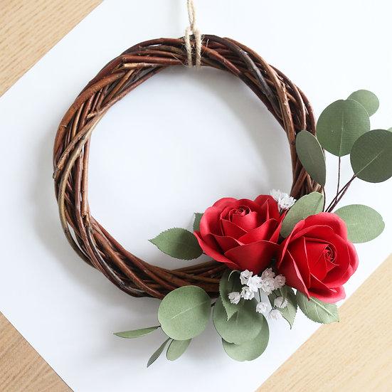 Decorative Rose Wreath