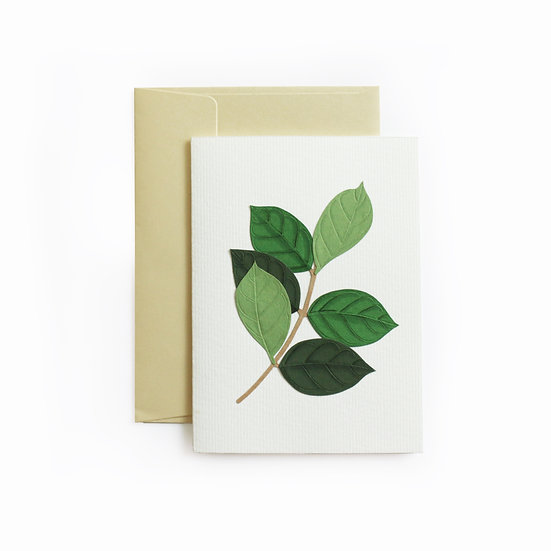A6 Leaf Card 1
