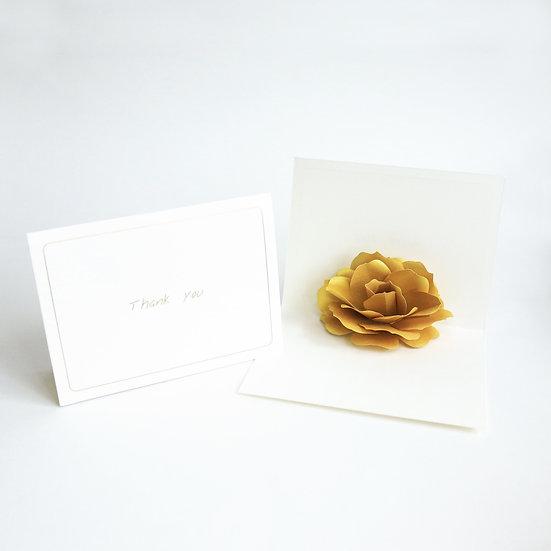 Rose Pop-up Card