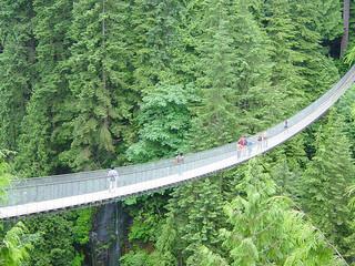 遊學新視界:全世界最長的步行吊橋,卡皮拉諾公園