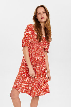 Robe Carly rouge