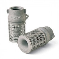 2″ FOOT VALVE AND STAINER (SPRING-LOADED)