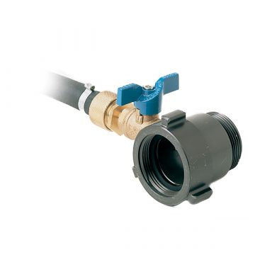 "OT-25 WATER THIEF 1 1/2""NPSH W/1/2"" HOSE & TIP"