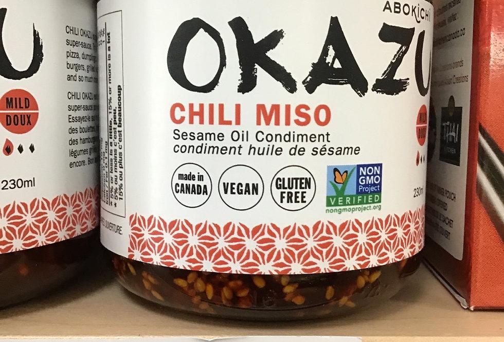 Okazu Chili Miso Sauce