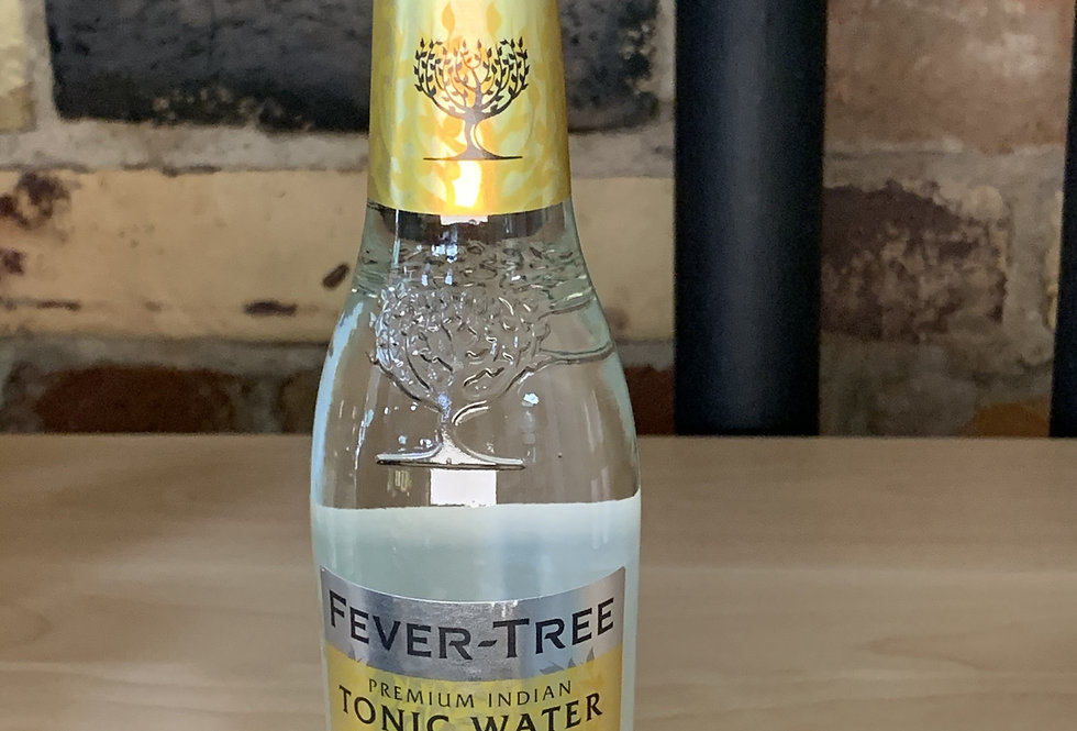 Fever Tree Premium Indian Tonic Water, single