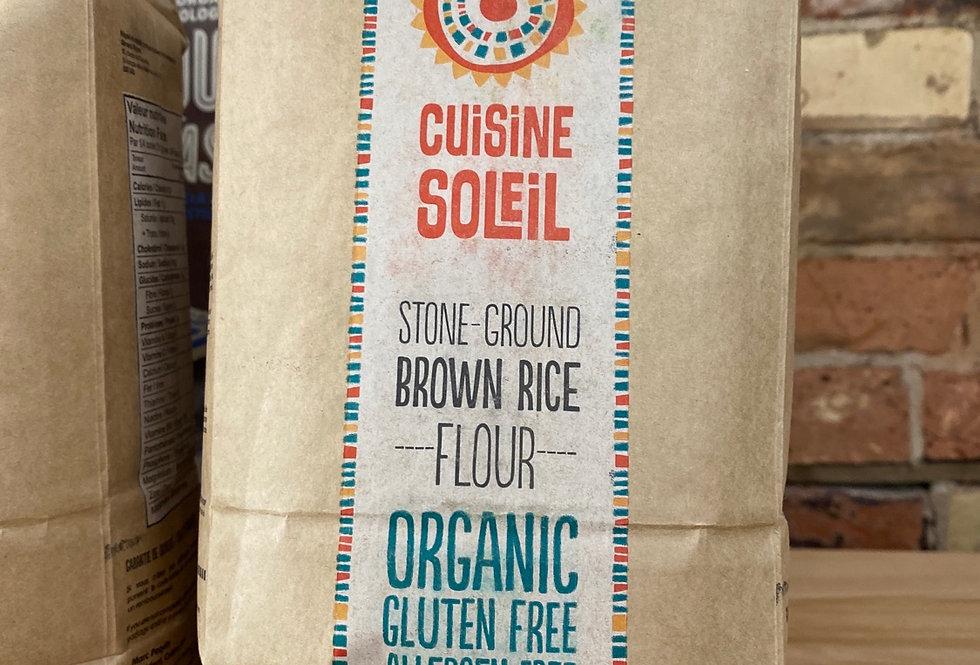 Cuisine Soleil Organic Gluten Free Brown Rice Flour