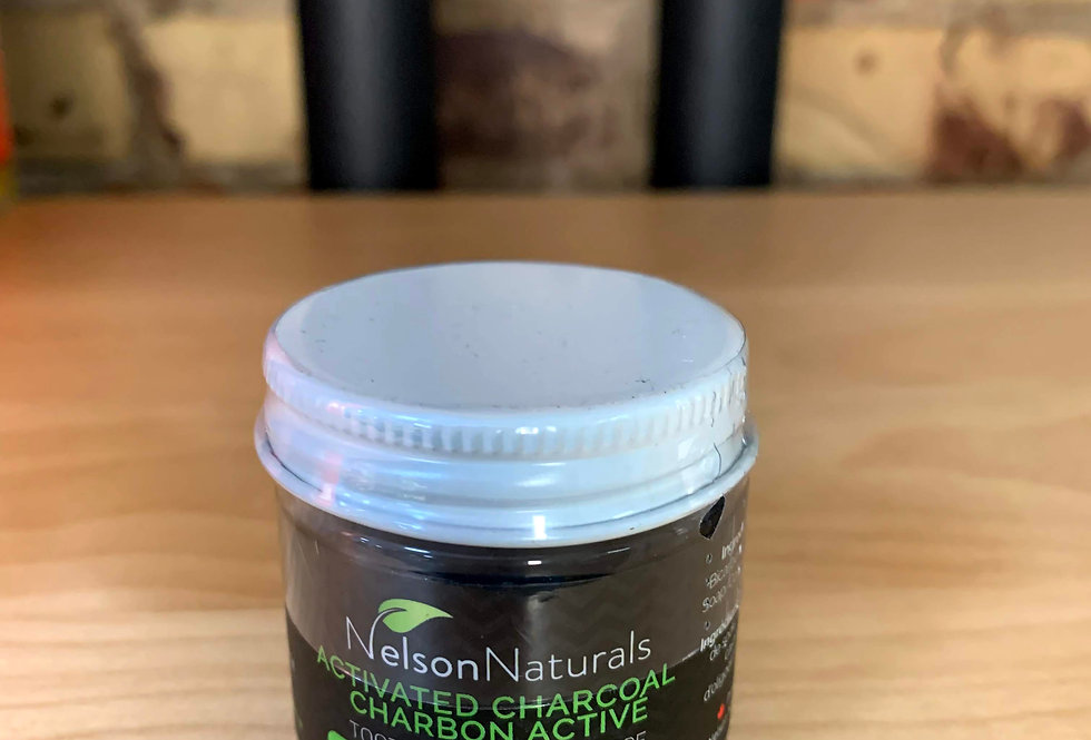 Activated Charcoal Toothpaste by Nelson's Naturals