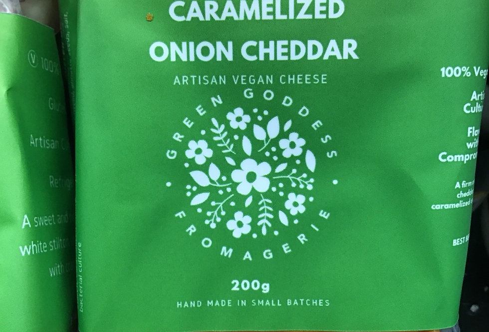 Caramalized Onion Cheddar-Green Goddess Fromagerie