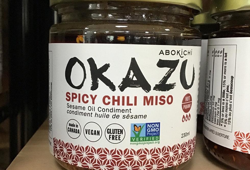 Okazu Spicy Chili Miso Sauce