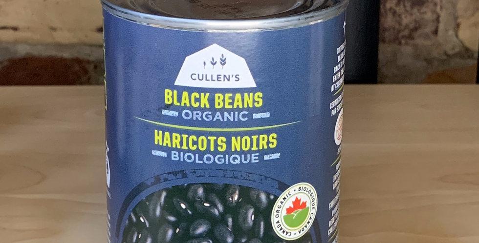 Cullen's Organic Black Beans (Ontario)