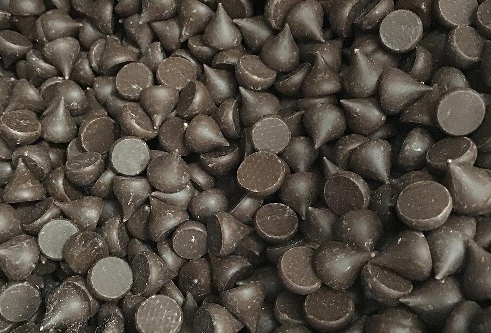Organic Fair Trade Camino Chocolate Chips, semi sweet, per 1/2lb