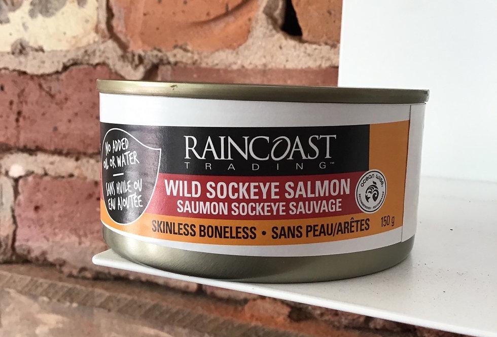 Sockeye Salmon, skinless, boneless