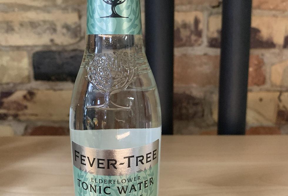 Fever Tree Elderflower Tonic Water, single