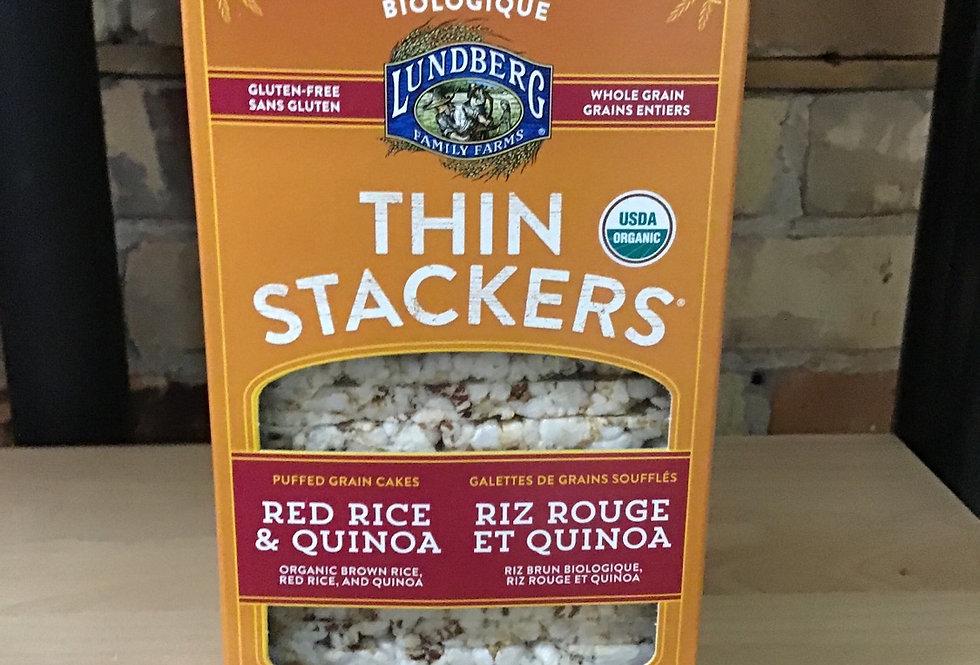 Lundberg Organic Red Rice & Quinoa Thin Stackers