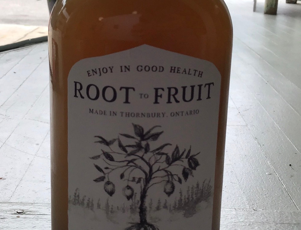 Ginger-Licious- Root to Fruit Elixr