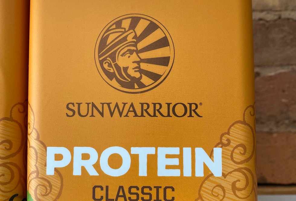 Sunwarrior Organic Sprouted and Fermented Protein Powder - Chocolate