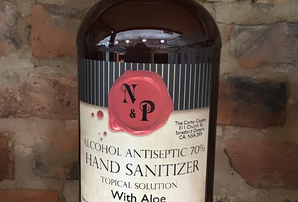 Hand Sanitizer 70% made with aloe - 1L Refill