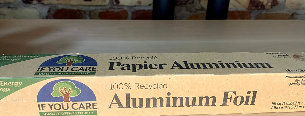 If You Care100% Recycled Aluminum Foil Roll