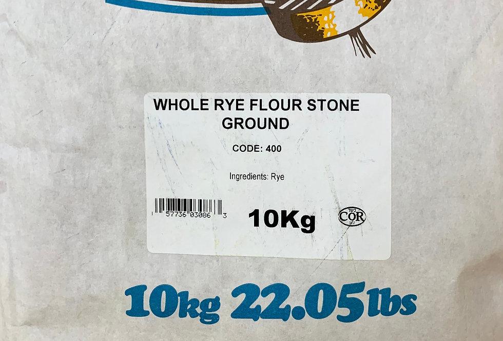 Whole Rye Flour Stone Ground - 10kg