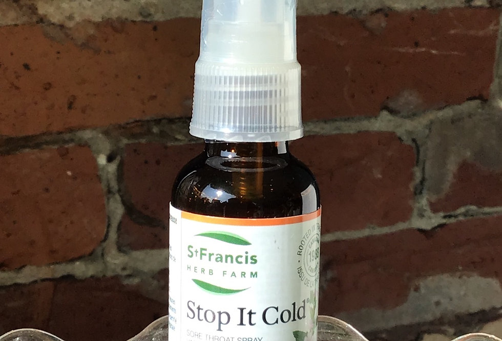 St Francis Throat Spray