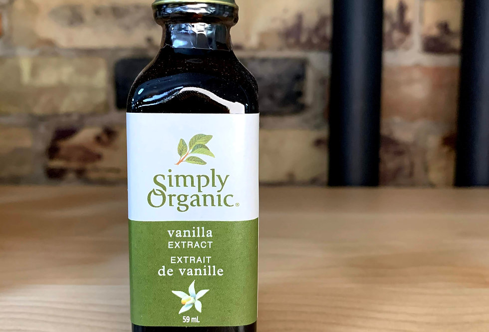 Simply Organic Vanilla Extract, 50ml