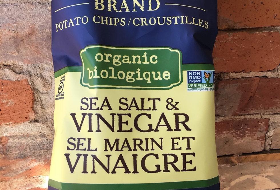 Kettle Organic Chips, Salt & Vinegar