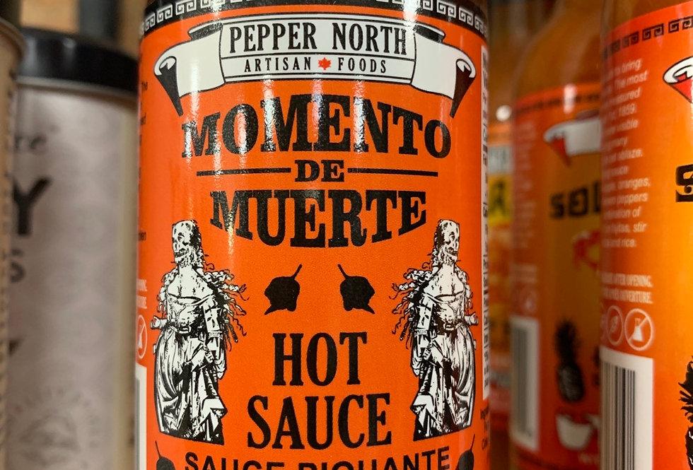 Hot Sauce - Momento de Muerte by Pepper North - Black Cherry -148ml