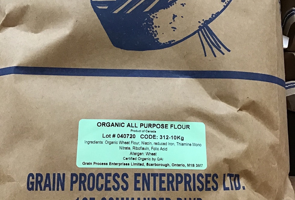 Flour, All Purpose Organic 10kg