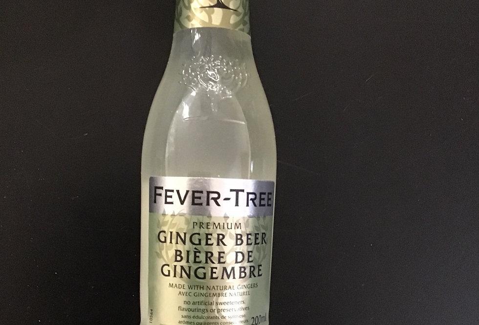 Fever Tree Ginger beer, single