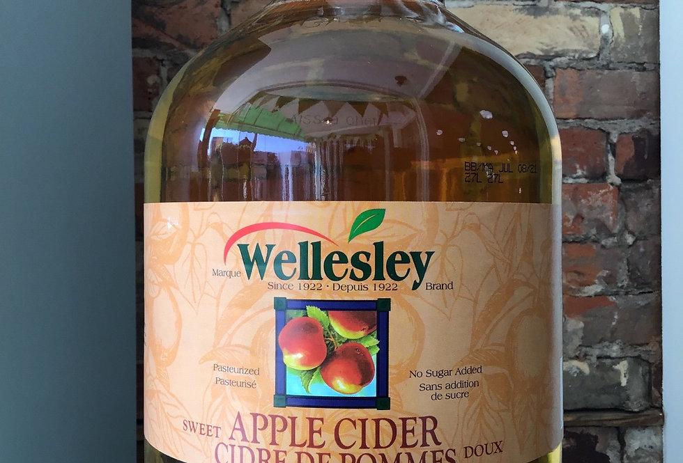 Wellesley Apple Cider - 3.78 L/ 1gallon