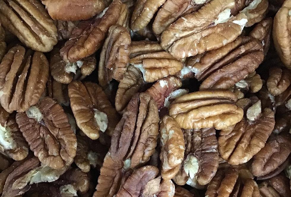 Raw Pecans Halves Unsalted