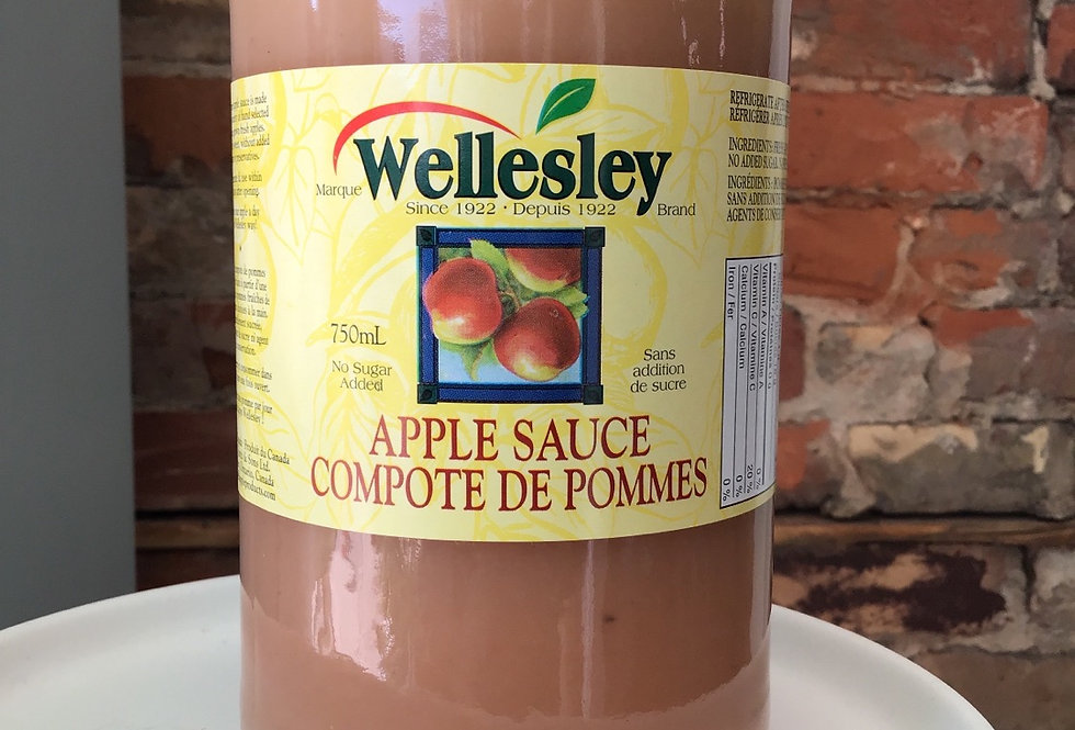 Wellesley Apple Sauce