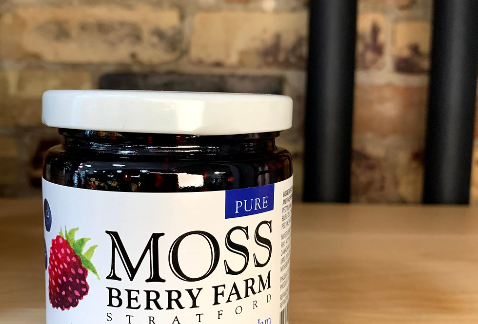 Moss Berry Farm Wild Blueberry and Raspberry Jam (Stratford)