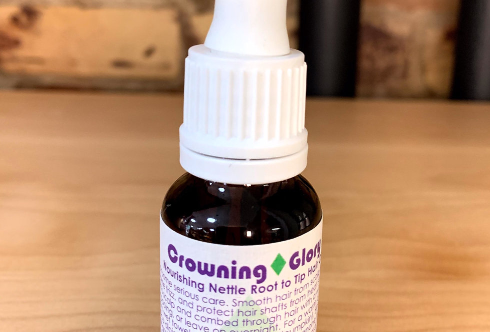 Crowning Glory Hair Oil- Living Libations -15ml