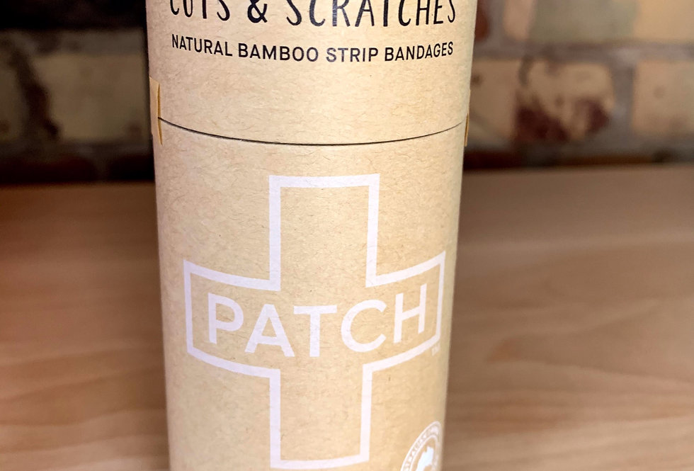'Bandaids'- by Patch (plastic free) NATURAL