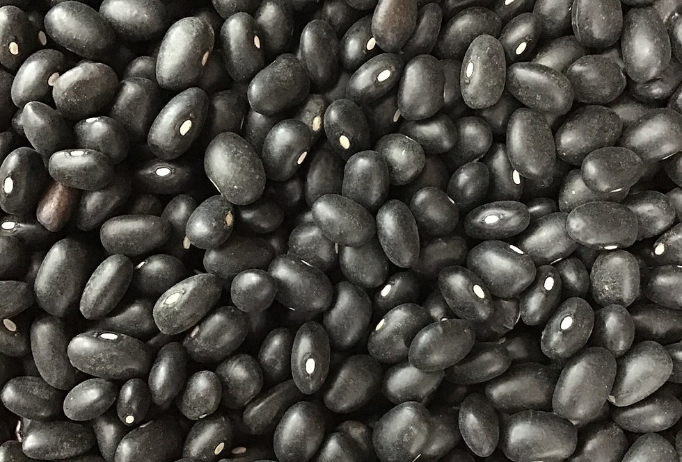 Bulk Cullens Organic Black Turtle Beans, dried