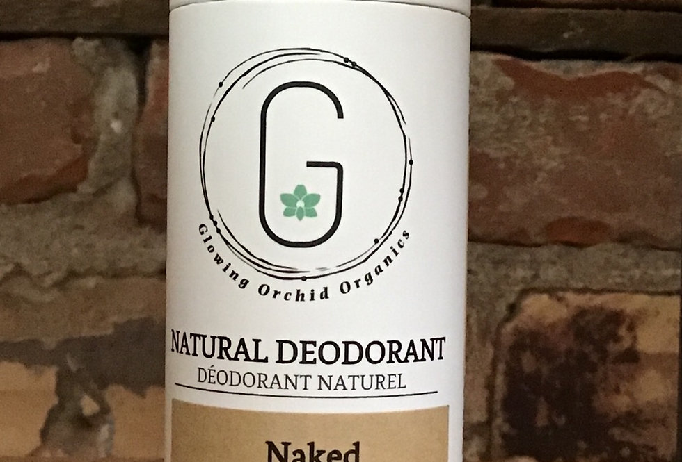 Glowing Orchid Organics Natural Deodorant-Naked
