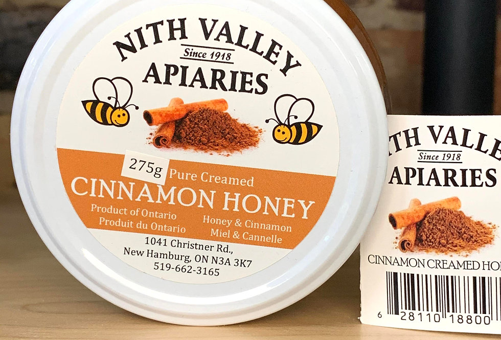 Nith Valley Apiaries Cinnamon Honey