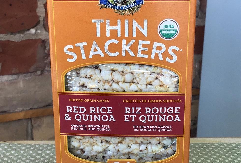 Lundberg Organic Red Rice &Quinoa Thin Stackers