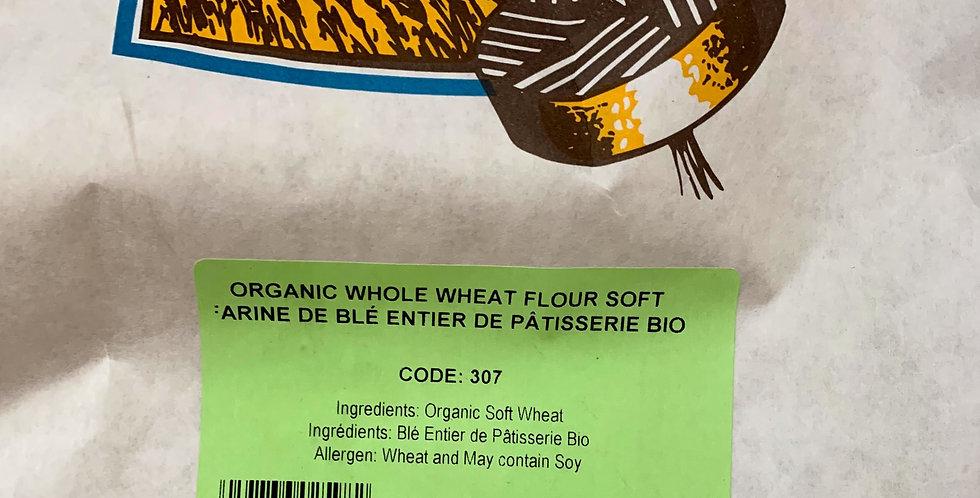 Organic Whole Wheat Flour (soft) - 10kg