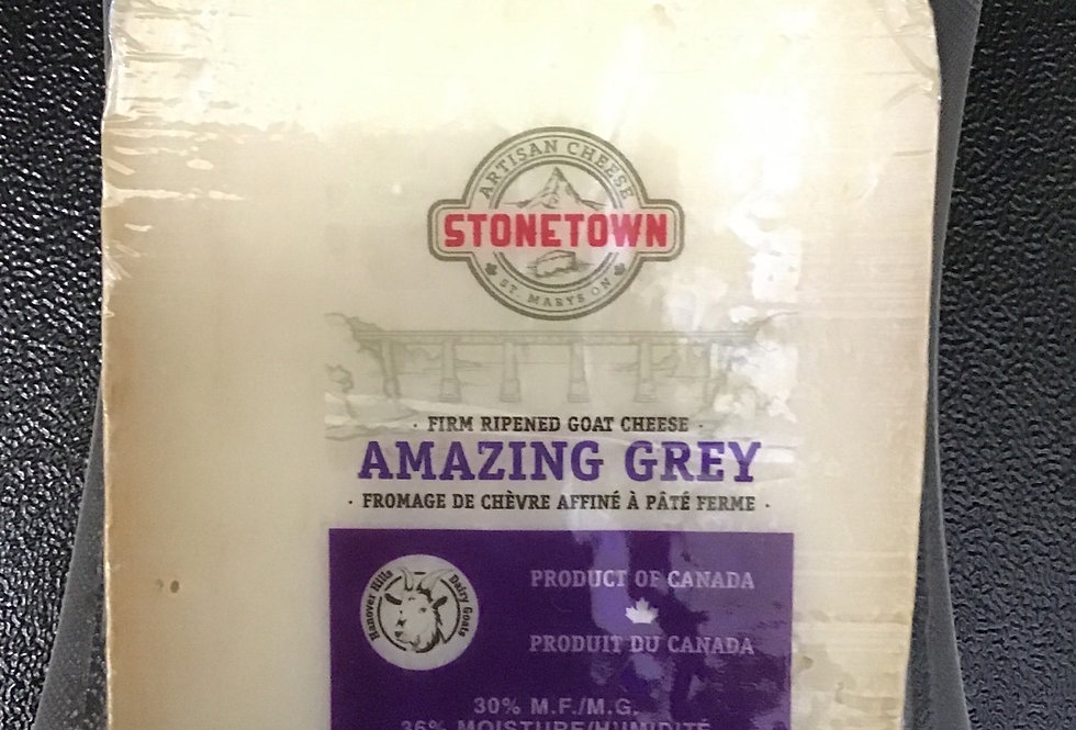 Amazing Grey, Hard Goat Cheese - Stonetown Artisan Cheese