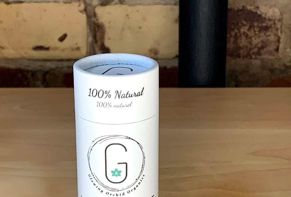 Glowing Orchard Organics Natural Deodorant- Lemongrass and Rose