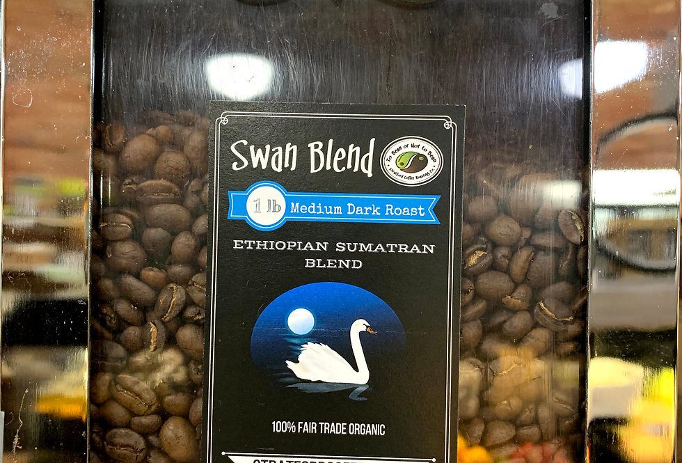 Coffee, To Bean or Not to Bean, Swan Blend