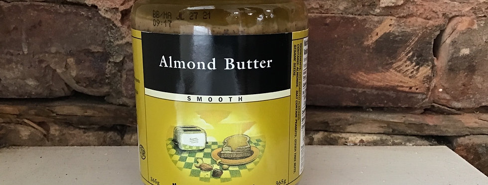 Almond Butter (smooth) - Nuts To You Nut Butter Inc.