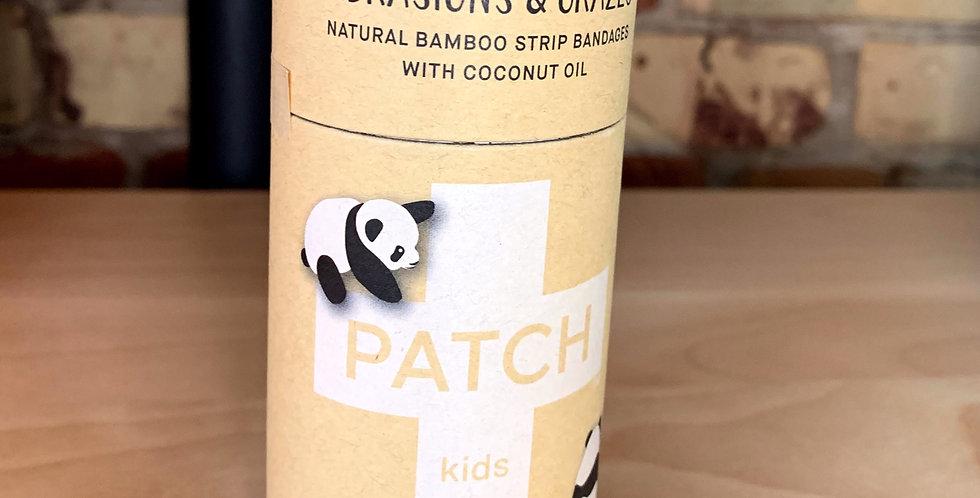 'Bandaids'- by Patch (plastic free) PANDA PRINT